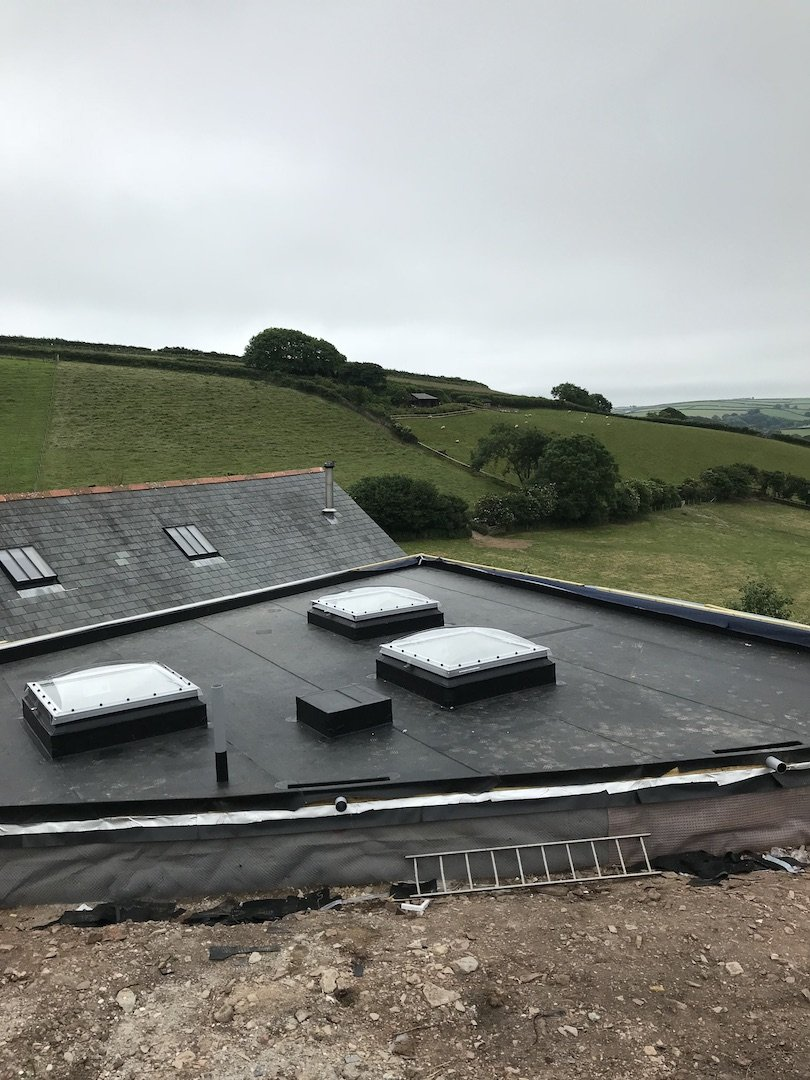south hams epdm roofing