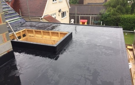 Fully Adhered Single Ply Flat Roof Installation Billericay Essex